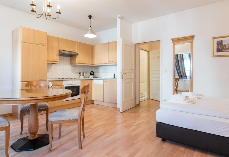 Aldano Apartments Vienna, Wiedeń, Studio Apartment, Pokój