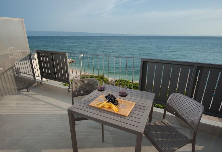 Seaside Luxury Suites , Podstrana, Apartmán typu Superior, výhľad na more (M13), Balkón