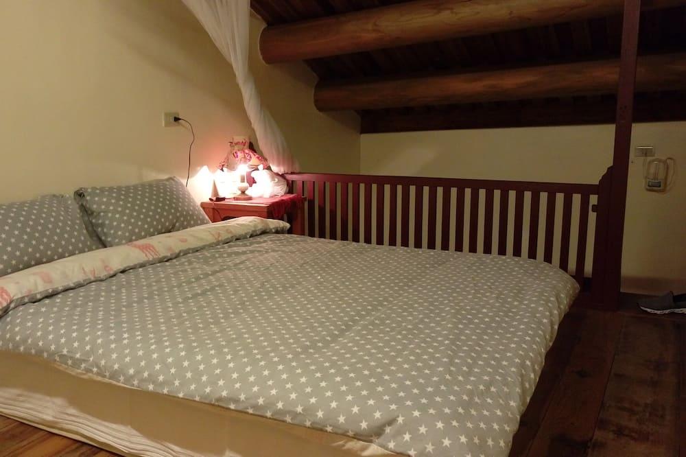 Komforta četrvietīgs numurs, 2 divguļamās karalienes gultas, vannasistaba numurā - Dzīvojamā zona