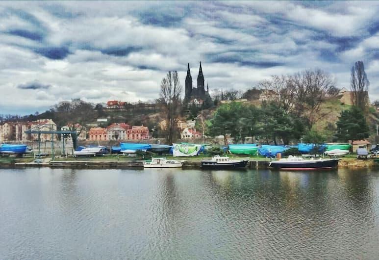 Botel Vodník, Prague, View from Hotel