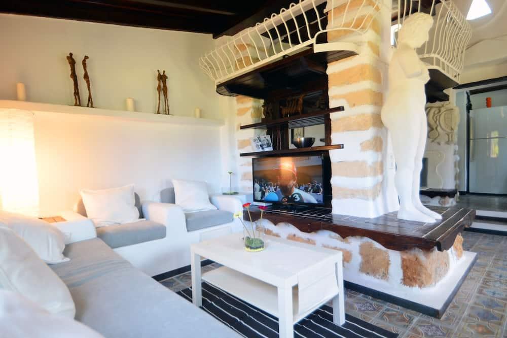 Villa, 4 Quartos, Piscina Privativa - Sala de Estar