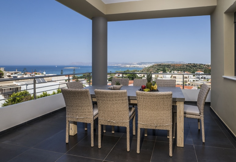 The Hill House, Chania, Luxury Villa, 3 Bedrooms, Non Smoking, Terrace/Patio