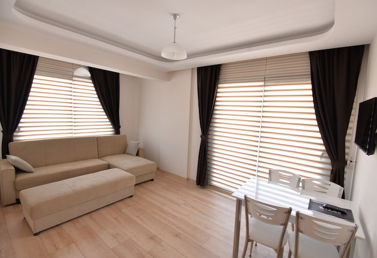 Artim Exclusive Apart Hotel, Fethiye, Apartment, 1 Bedroom, Living Area