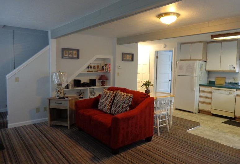 Sand Dollar Cottage, Seaside, Rekreačná chata, 2 spálne, Obývačka
