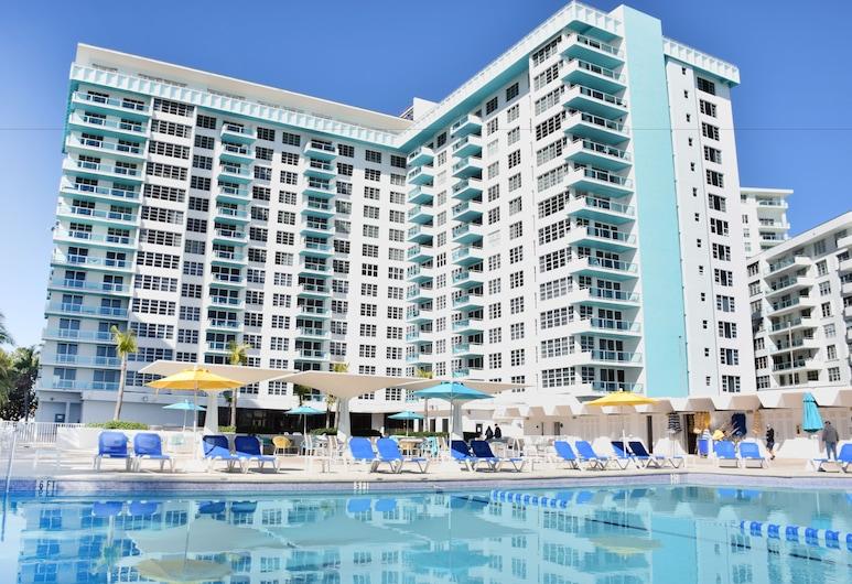 Ocean Beach Apartments by ME, Маямі-Біч, Відкрита веранда