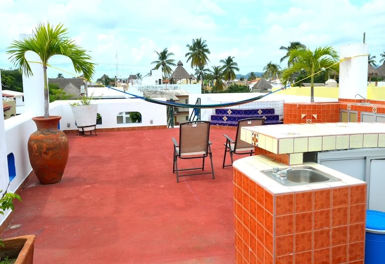 Casa Holistica Sol, Barra de Navidad, Terrasse/veranda