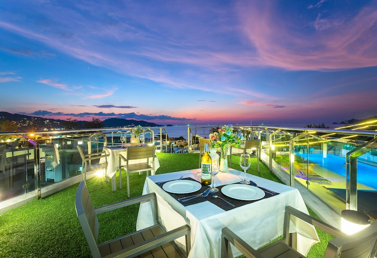 Hotel Clover Patong Phuket, Patong, Outdoor Dining