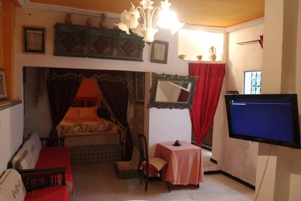 City Apart Daire, 1 Yatak Odası (Sultan) - Oturma Odası