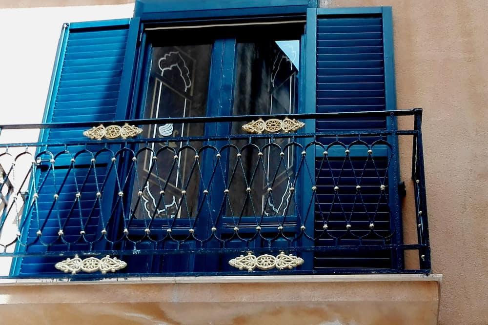 Romantisches Apartment, 2Schlafzimmer, Stadtblick - Balkon