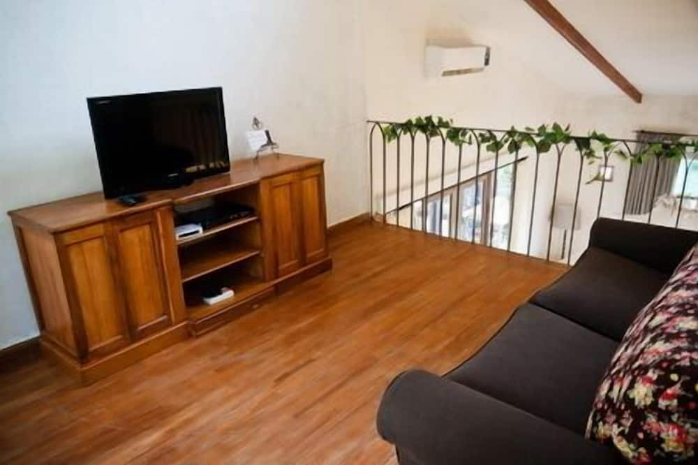 Duplex Suite  - Svetainės zona