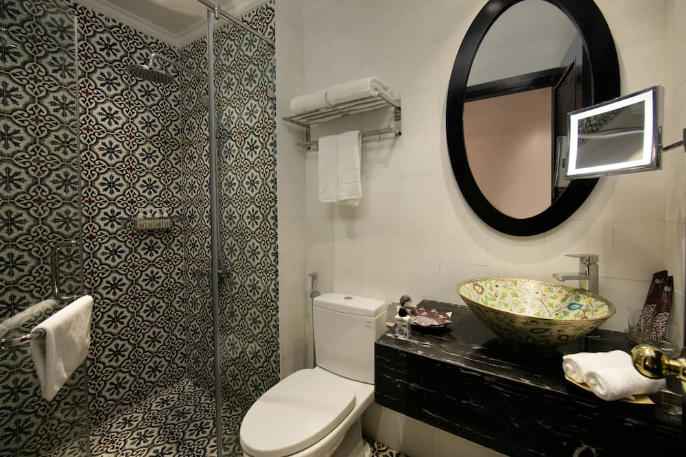 Suite, Balkon - Badezimmer