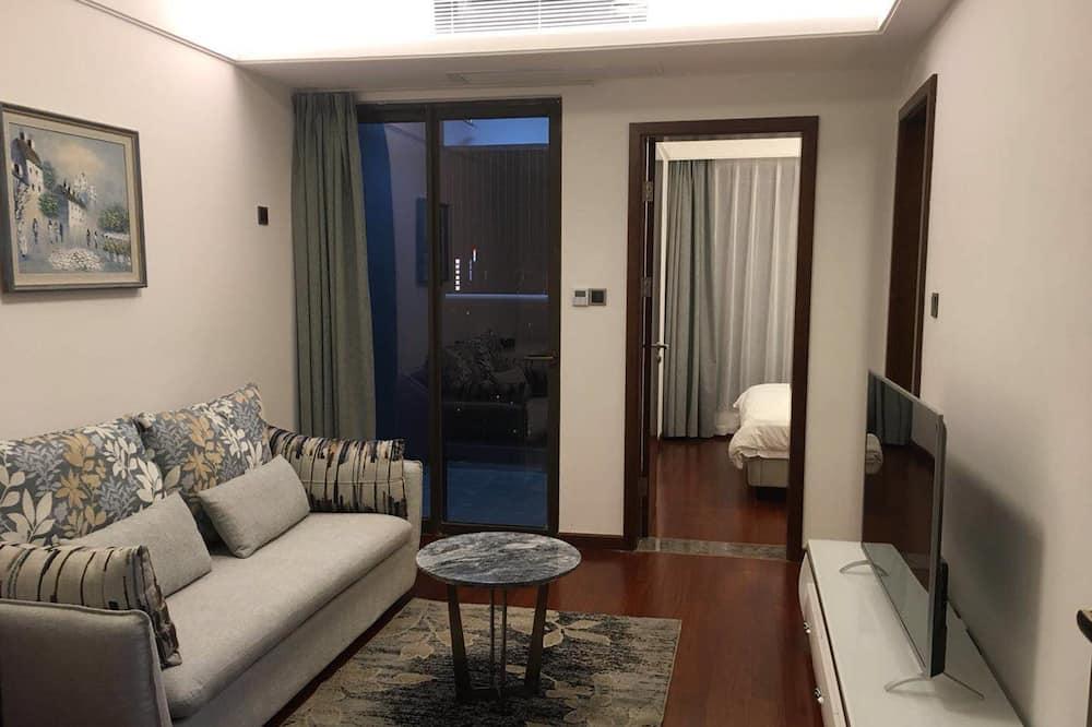 Darījumklases luksusa numurs, viena guļamistaba - Dzīvojamā zona