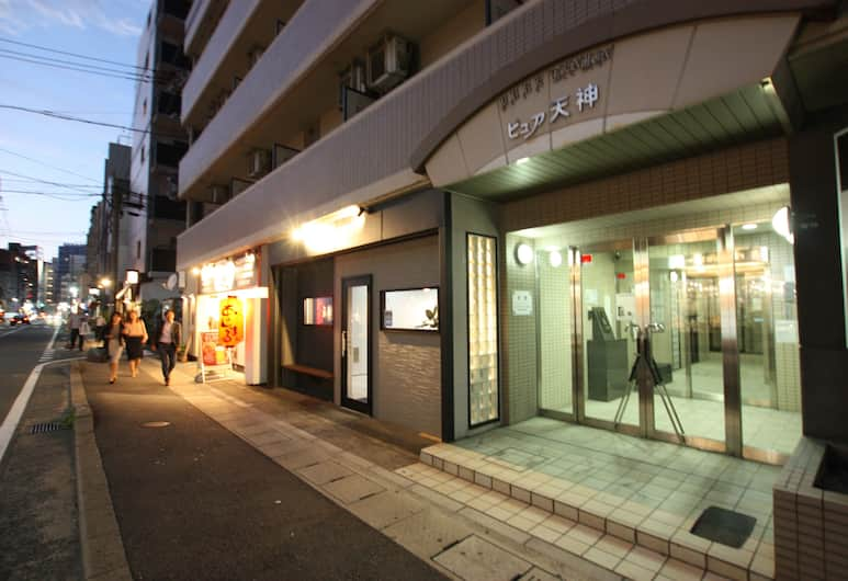 Pure Tenjin, Fukuoka, Front of property – evening