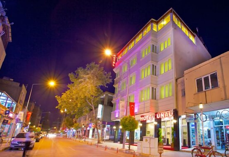 Unal Hotel, Adiyaman, Hotel Front – Evening/Night