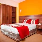 Стандартный двухместный номер с 1 двуспальной кроватью, вид на город - Главное изображение