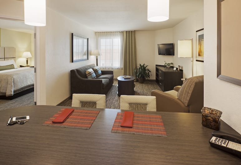 Candlewood Suites Oklahoma City - Bricktown, Oklahoma City, Room, 1 Bedroom, Accessible, Bathtub (Mobility), Guest Room