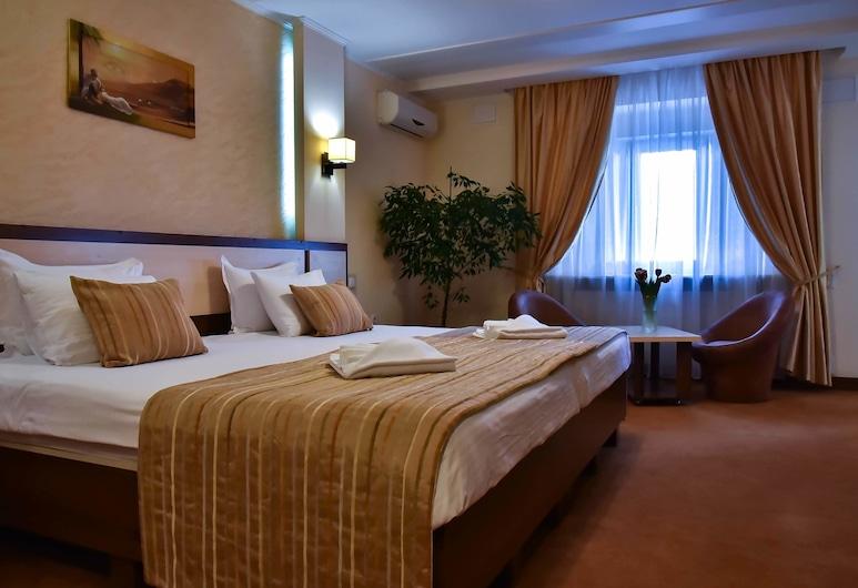 7 Sky Hotel Klinicheskaya Street, Kyiv, Süit, Oda