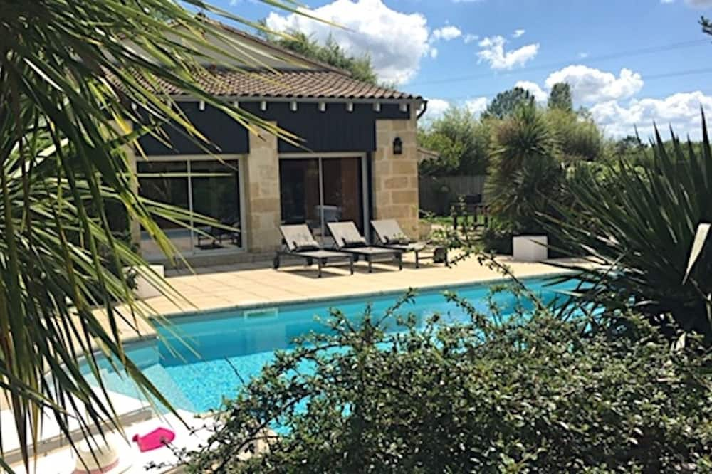 Villa, Özel Banyo, Havuz Manzaralı (Domaine de la Ronce) - Oda