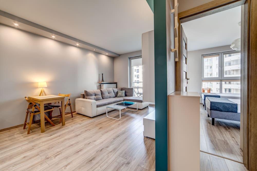 דירת קומפורט, חדר שינה אחד, נגישות לנכים, נוף לחצר - חדר