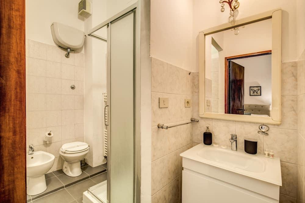 Pokoj Comfort s dvojlůžkem, dvojlůžko (180 cm), soukromá koupelna - Koupelna