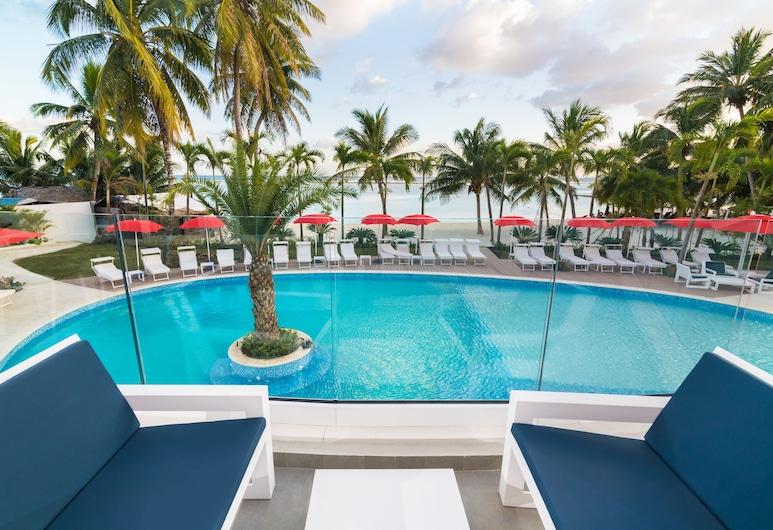 Boca Beach Residence Hotel, Boca Chica, Udendørs pool