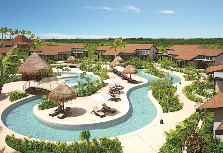 Dreams Playa Mujeres Golf & Spa Resort, Punta Sam, Utendørsbasseng
