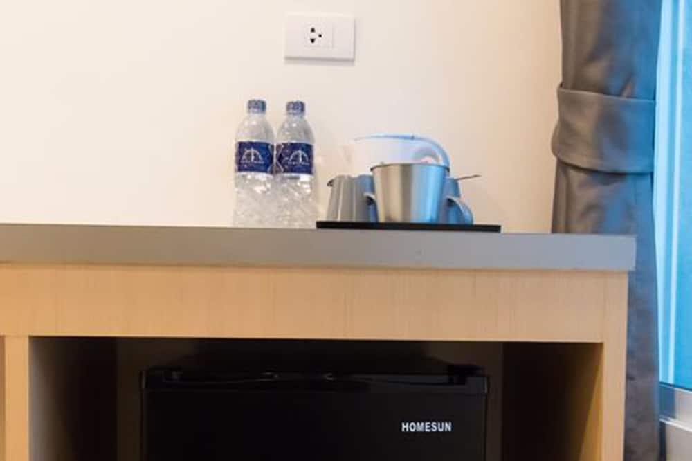 Superior Platform Double Room, Walk in Closet - Mini Refrigerator