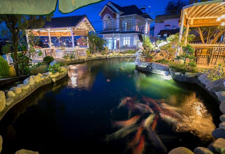 羅賓斯別墅酒店, 大叻, 噴水池