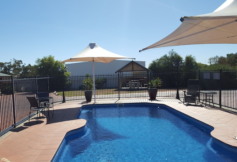 Gateway Motor Inn, Broken Hill, Venkovní bazén