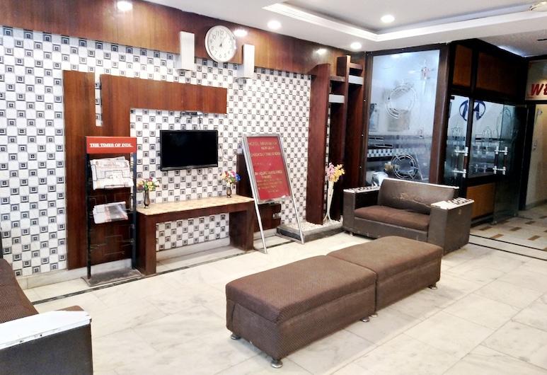 HOTEL MAANVI, Neu-Delhi, Sitzecke in der Lobby