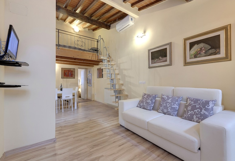 Monna Lisa Apartment, Florence, Apartment, 1 Bedroom, Living Area