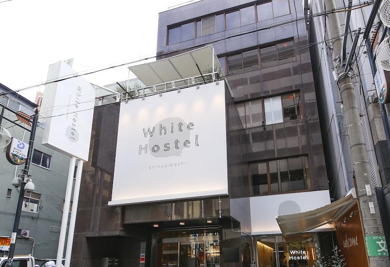 ホワイトホステル心斎橋, 大阪市, ホテルのフロント