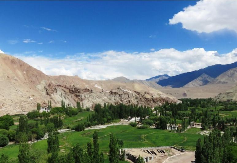 The Grand Ladakh, Leh, Vista montagna