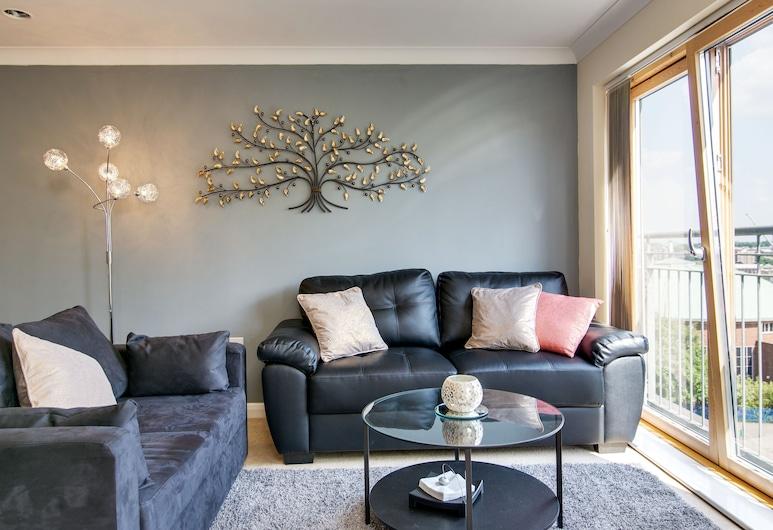 Mica Point City Centre Apartment, Birmingham, Appartamento Standard, 2 camere da letto, vista città (67), Area soggiorno