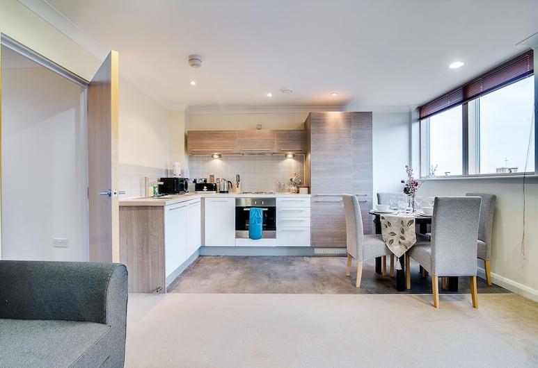 Mica Point City Centre Apartment, Birmingham, Štandardný apartmán, 2 spálne, vlastná kúpeľňa, výhľad na mesto, Izba