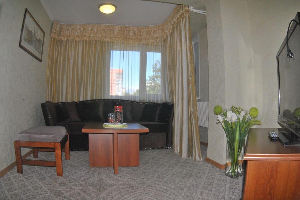 Chambre Double Supérieure, 1 chambre - Salle de séjour