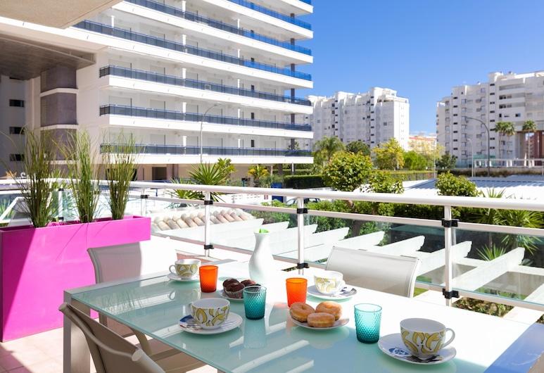Apartamento Playa Gandiazar, Gandia, Apartment, 2 Bedrooms, Terrace, Sea View, Balcony