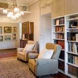 Apartment, 2 Bedrooms, Balcony (Location: Via Casaregis 11) - Living Area