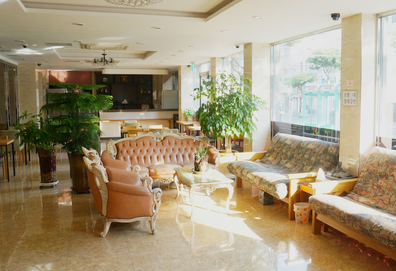 HOTEL G, Jeju City, Lobby Sitting Area