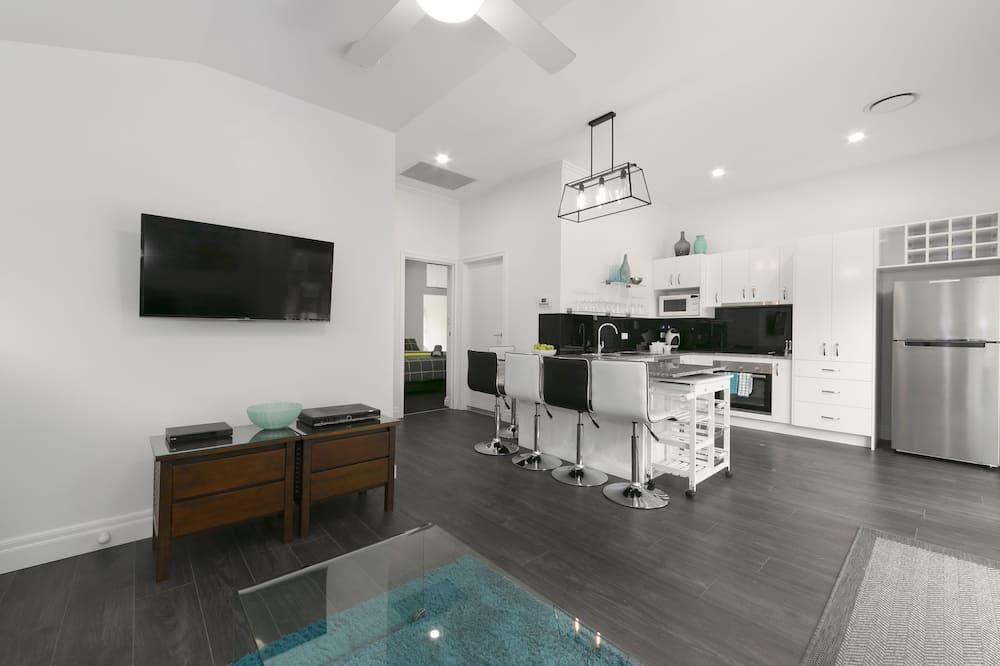 Casa familiar, 2 habitaciones - Sala de estar