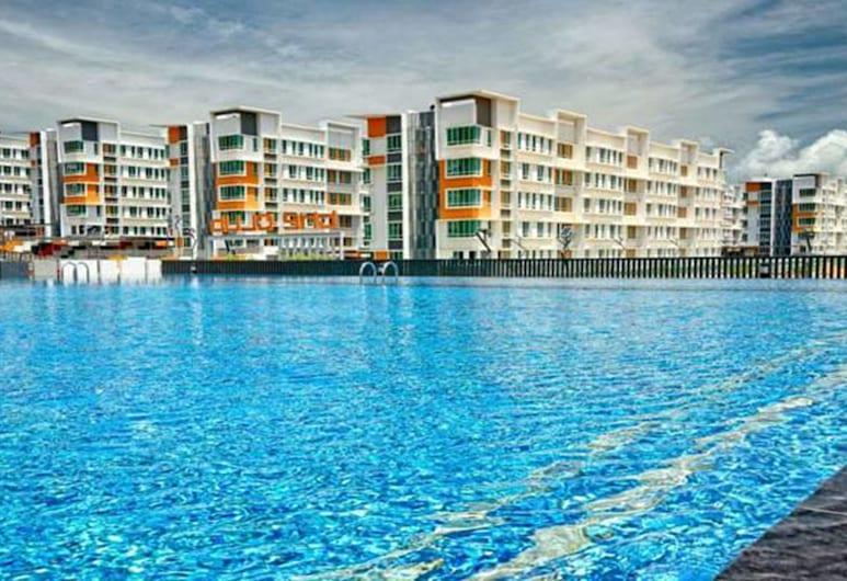 Quin Homestay, Kota Kinabalu, Vanjski bazen