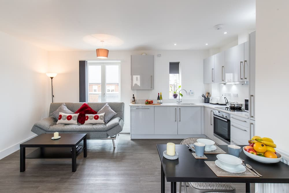 Apartment, 2Schlafzimmer, Nichtraucher - Wohnbereich