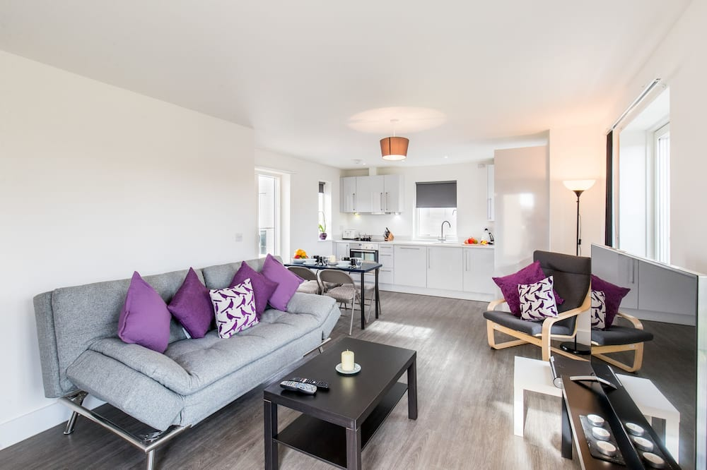 Apartment, 2Schlafzimmer, Nichtraucher - Wohnzimmer
