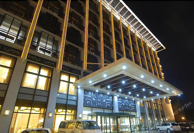 Sheke Boyuan Hotel, Beijing, Hotel Entrance