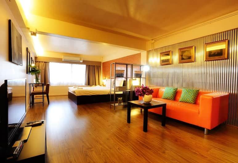 Baan Saladaeng Boutique Guesthouse, Μπανγκόκ, Σουίτα, Δωμάτιο επισκεπτών