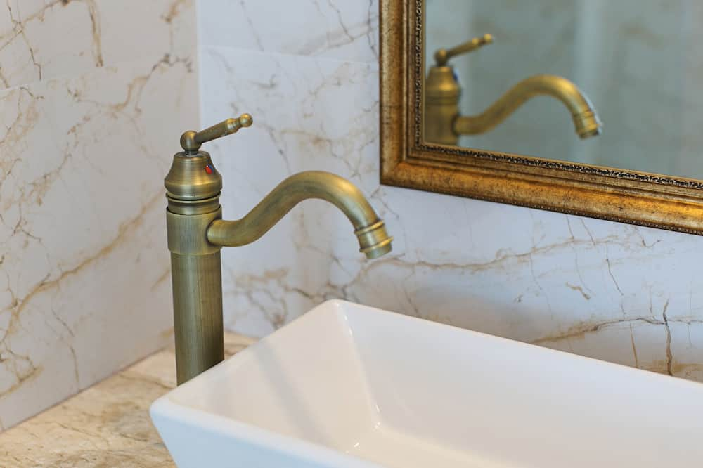 高級雙人房 - 浴室洗手盤