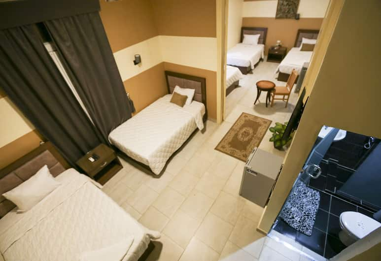 فندق فالنسيا, القاهرة, غرفة سوبريور رباعية - غرفة نوم واحدة - منظر للمدينة, غرفة نزلاء