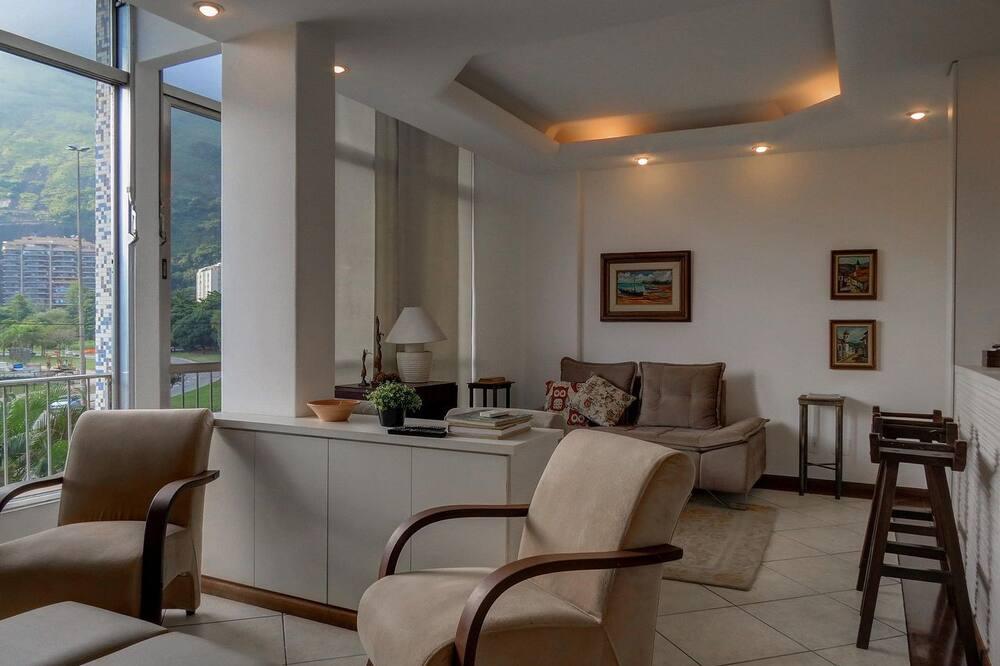 Apartmán (L2-001) - Obývacie priestory