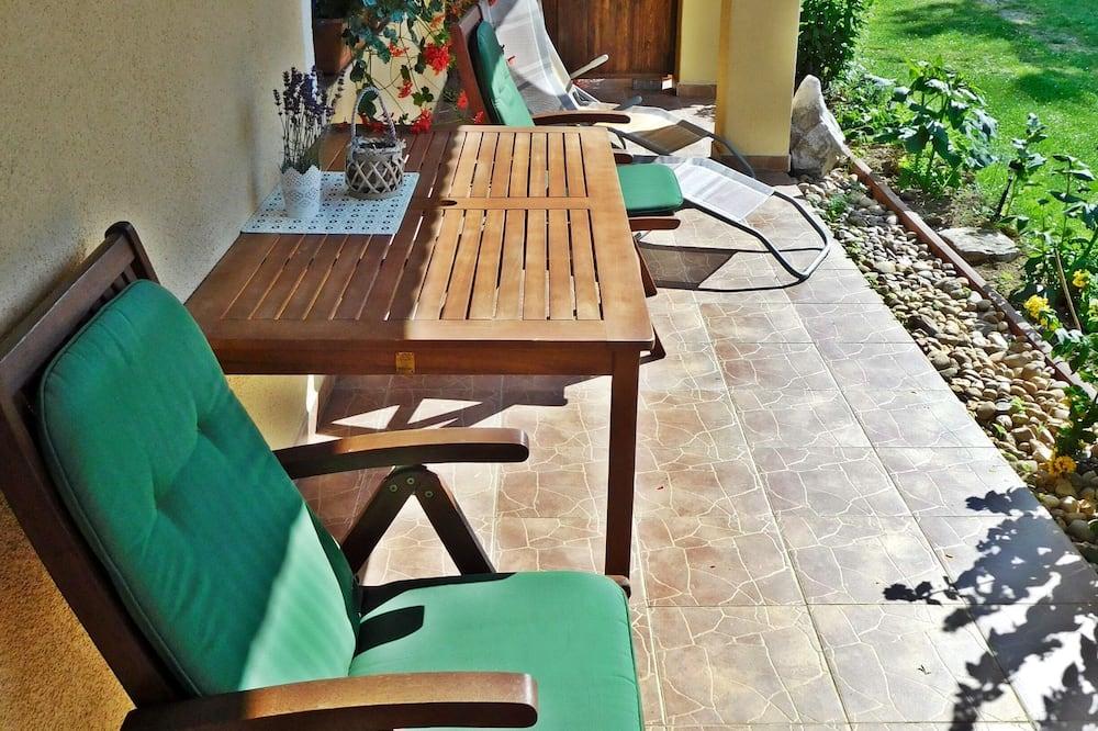 Studio, 1 dobbeltseng med sovesofa - Terrasse/veranda