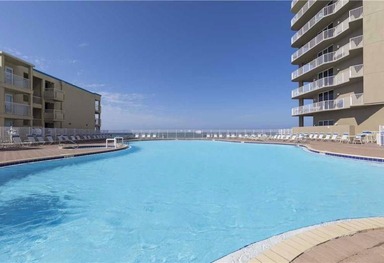 Tidewater Beach Resort by Royal American Beach Getaways, Panama City Beach, Outdoor Pool